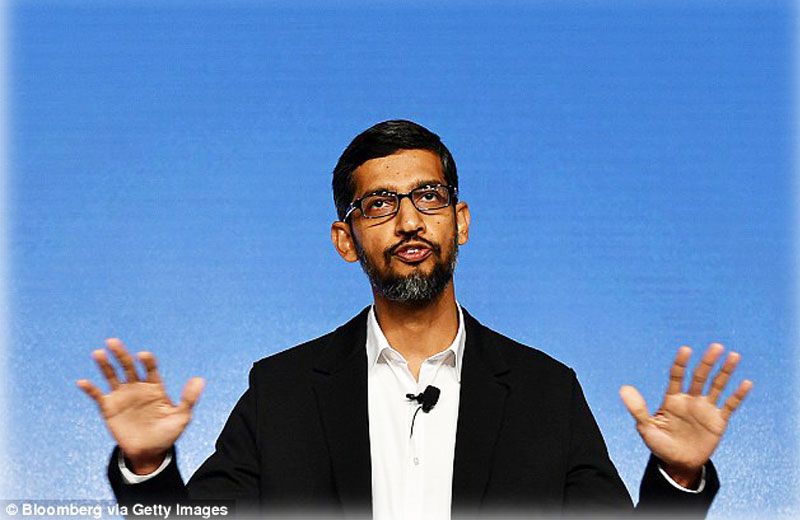 CEO da Google Sundar Pichai - Foto: Bloomberg/Getty Images