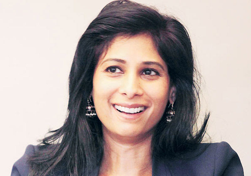 Gita Gopinath - Foto: The Indian Express