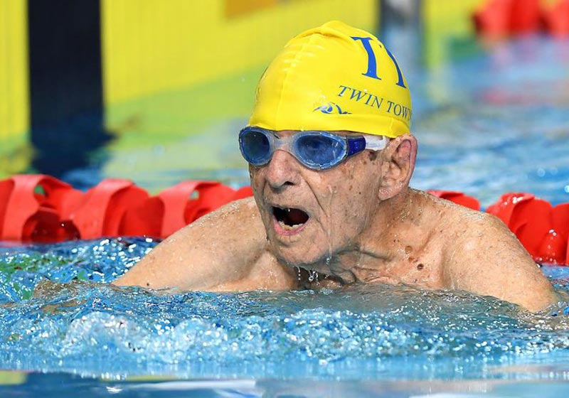 George Corones, 99 anos - Foto: Bradley Karanis / Getty Images