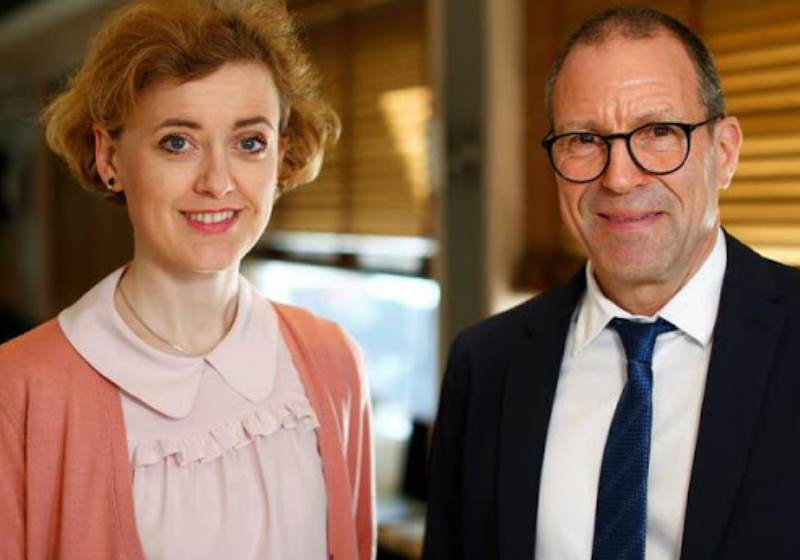 Sarah Schott and Christof Sohn, do Hospital Universitário de Heidelberg Foto: Reuters