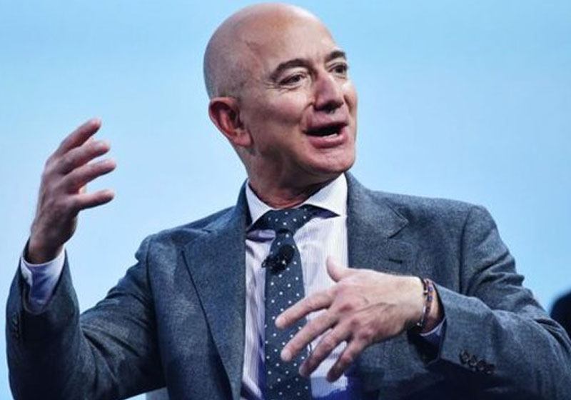 Jeff Bezos, CEO da Amazon - Foto: AFP