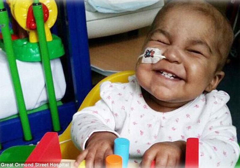 Layla Richards - Foto: Great Ormond Street Hospital