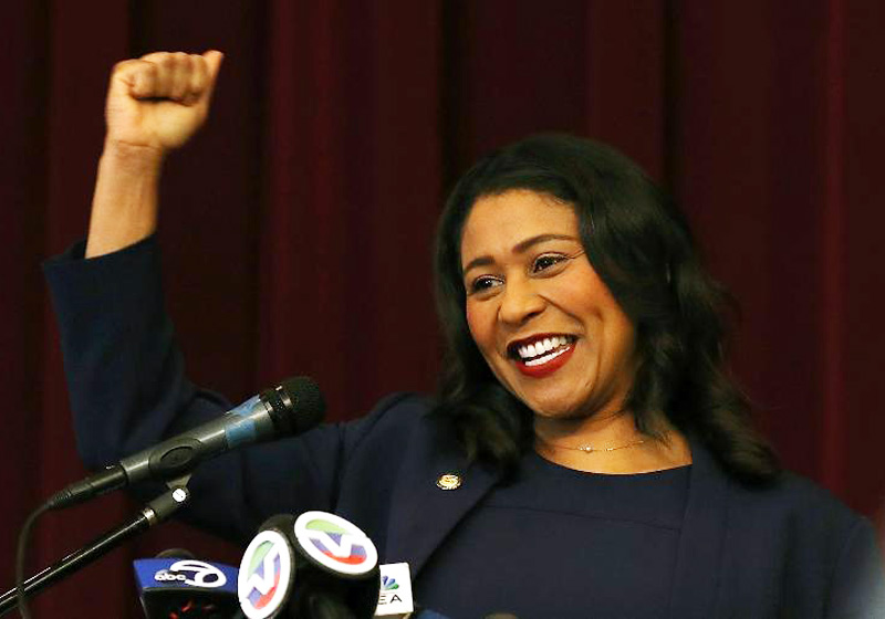 London Breed - foto: Getty Images