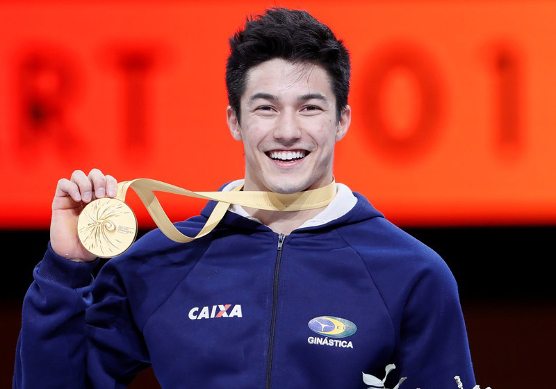 Arthur Nory é ouro no mundial - Foto: Wolfgang Rattay/Reuters